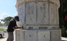 Kartal'daki Atatürk ve Türk Devletleri Anıtı İçin Restorasyon Çalışmaları Başladı