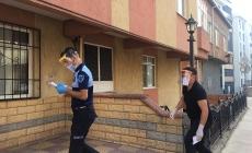 Koronavirüs hastalarına karantina denetimi