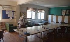 Kartal'da okullar dezenfekte ediliyor