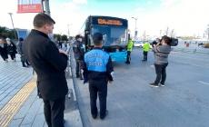 Üsküdar'da Toplu Taşıma Araçları Denetleniyor