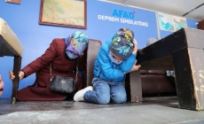 AFAD DEPREM SİMÜLASYON TIRI ÜMRANİYE'DEYDİ