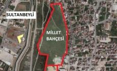 Sultanbeyli'de millet bahçesine 30 bin metrekare inşaat