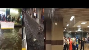 İstanbul Metrosunu Su Basması