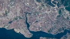 Uzaydan çekilen İstanbul Boğazı